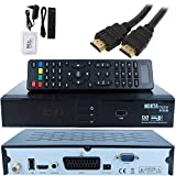Sat Satelliten Receiver Nokta 6110 - DVB S/S2  Set Hochwertiger Dvbs/S2 Receiver Kabel Hd Ready,  Hdtv,  HDMI,  Scart, USB 2,0