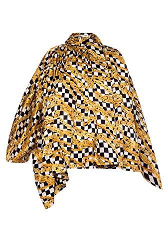 Luxury Fashion   Balenciaga Dames 601961TGL101070 Goud Zijde Blouses   Lente-zomer 20