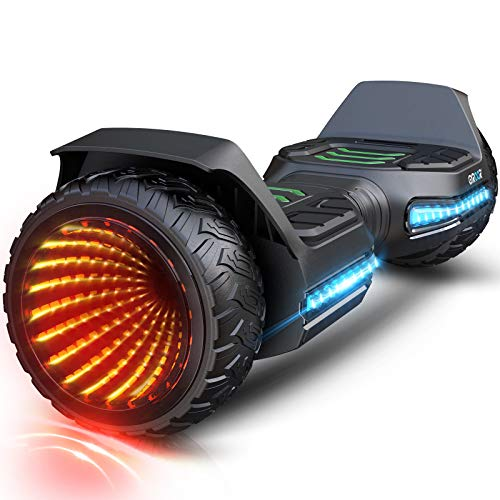 Gyroor Hoverboard Offroad All Terrain Flash Wheel Self Balancing G5 Hoverboards with...