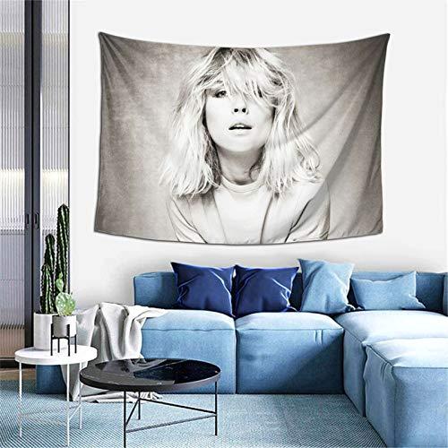Tapiz para colgar en la pared, diseño de Deborah Ann Harry para dormitorio, decoración de pared, manta de playa, talla única