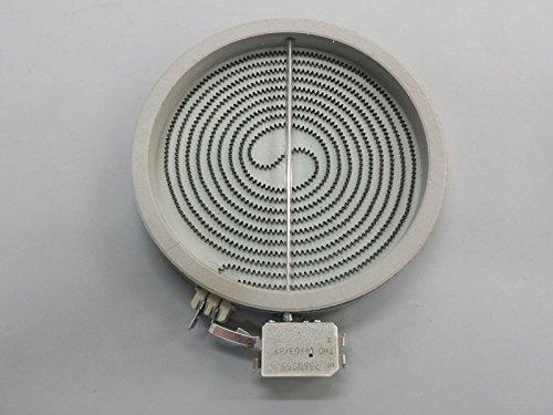 RECAMBIOS DREYMA Placa Radiante Universal VITROCERÁMICA 1800W. 20 CMS Exterior 17,5 CMS Interior