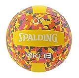 Spalding KOB 72-355Z Balón de Baloncesto, Unisex, Amarillo/Rosa, 5