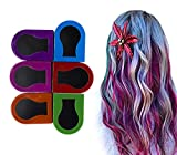 Kabello Hair Colouring Chalk Temporary For Kids And Women Multi Color 6 Pcs