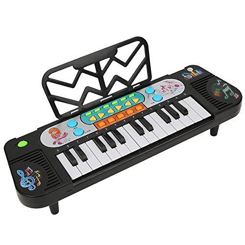 Teclado electrónico Piano, Instrumento musical portátil multifunción Teclado multifunción, Música de piano para niños Juguetes educativos de enseñanza para cumpleaños Regalos de Navidad (1#)