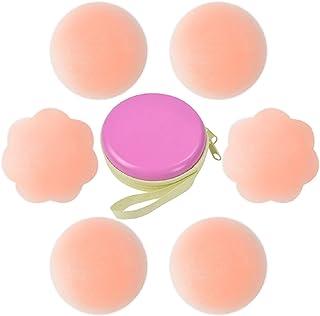 Pezoneras para Mujer Cubierta de Pezon Pezoneras Adhesivas Silicona Sujetador Pezon