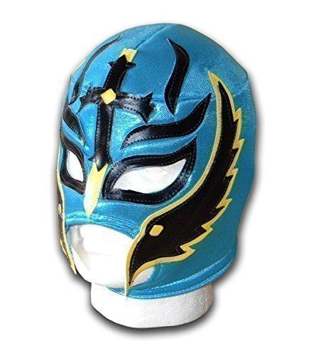 Son of Devil Erwachsene Mexikanisch Wrestling-Maske Türkis