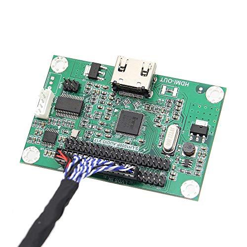 weichuang Accesorios Electrónicos Geekworm LVDS a HDMI Adaptador de la Junta de...