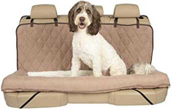 PetSafe Solvit Car Cuddler Seat Cover Dog Bed - Bench, Bucket Covers for Cars, SUVs and Trucks