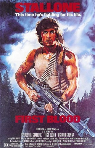 Pop Culture Graphics Rambo: First Blood Poster Movie D 11x17 Sylvester Stallone Richard Crenna Brian Dennehy