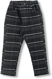 [ブランシェス] ライト起毛 やわらか テーパード チェックパンツ 男の子 キッズ ボーイズ 長ズボン