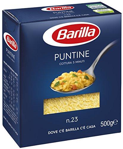 Barilla Puntine Pasta di Semola di Grano Duro, No. 23 - 500 gr