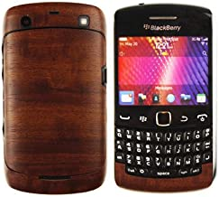 Skinomi Dark Wood Full Body Skin Compatible with BlackBerry Curve 9360 (Full Coverage) TechSkin with Anti-Bubble Clear Film Screen Protector