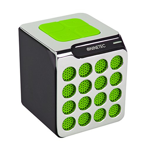 NINETEC BeatBoxx Bluetooth Speaker Lautsprecher Sound Box portabel Grün
