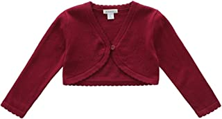 toddler burgundy cardigan
