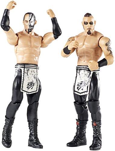WWE Pack de 2 figuras básicas con accesorios, Konnor y Viktor (Mattel FMF70)