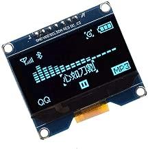 WINGONEER 1.54 Inch OLED Display Module 128x64 SPI IIC Interface OLED Screen Board 3.3-5V UART - Blue Font