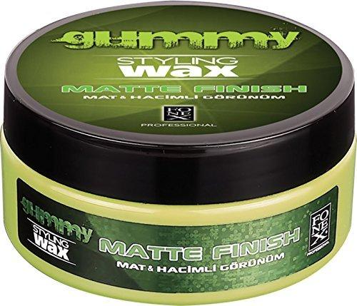 Fonex Gummy Weichkaolin-Haarwachs, mattes Finish, 150 ml