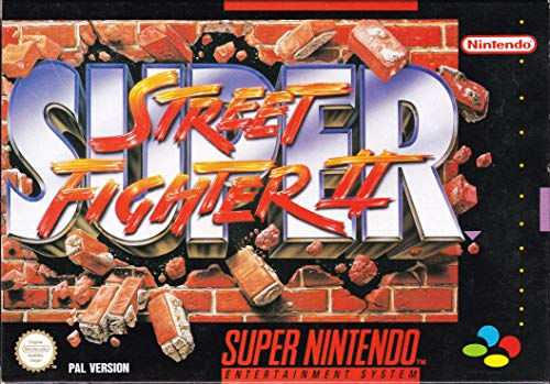 SNES Spiel Super Street Fighter II