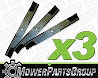 MowerPartsGroup D507 (3) Hi-Lift Blades Fits Dixon with 50