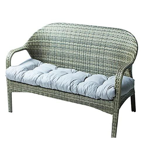 Cojín para Banco Muebles de Jardín o Columpios de 2 o 3 Plazas Apto para Interiores y Exteriores Terraza