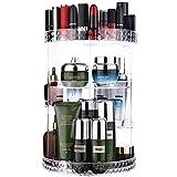 Viesap Organizador de Maquillaje de Giratorio con Rotación 360 Grados,Ajustable,Compartimento de...