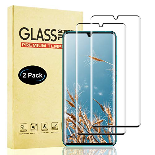 Lixuve 2 Unidades Protector de Pantalla para Xiaomi Mi Note 10 Cristal Templado, Cobertura Completa Vidrio Templado Película Protectora para Mi Note 10 [Sin Burbujas] [9H Dureza] [Instalación Fácil]