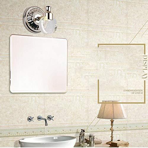 NA Hoofdbadkamerspiegel-koplamp-moderne, eenvoudige kristallen spiegel-voorste heldere waterdichte mistbadkamer-badkamer-wand-lamp inclusief spie