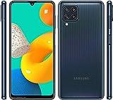 TLING Funda para Samsung Galaxy M32 + 3 Pack Protector de Pantalla, [5X Grado Militar Anti-caída Protección],Carcasa Trasera Transparente para PC,Film Vidrio Templado para Samsung Galaxy M32