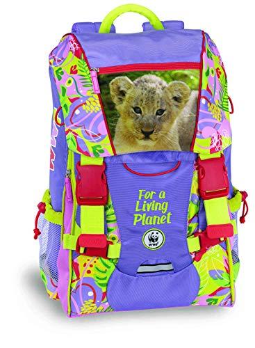 Zaino estensibile bambina WWF girl jungle 60344 collezione scuola 2019 2020