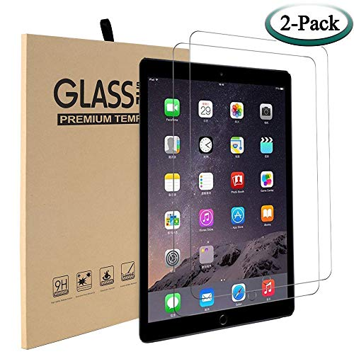 [2 Pack] MadeRy Tempered Glass Screen Protector for iPad 2018 & 2017 9.7' / iPad Pro 9.7' / iPad Air 2 / iPad Air. (For iPad A1893 A1954 A1822 A1823 A1673 A1674 A1675 A1566 A1567 A1474 A1475 A1476)