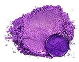 "Mica Powder Pigment ""Barney Purple"" (25g) Multipurpose DIY Arts and Crafts Additive | Woodworking, Epoxy, Resin, Paint, Soap, Natural Bath Bombs, Nail Polish, Lip Balm (Barney Purple, 25G)"