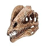 NUOBESTY - Resina de Dinosaurio Esqueleto para Acuario, decoración de Dinosaurio y Calavera