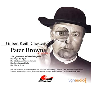 Vier Kriminalgeschichten - Pater Brown (Edition 2) Titelbild