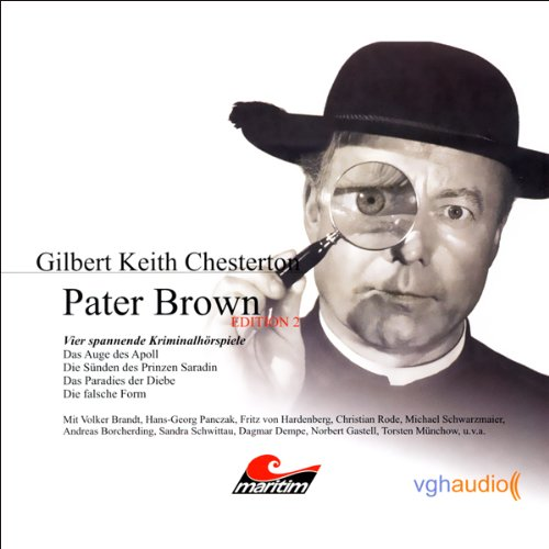 Vier Kriminalgeschichten - Pater Brown (Edition 2) audiobook cover art