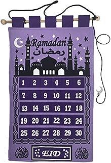 Purple Ramadan Tracker Count Down Ramadan Calendar