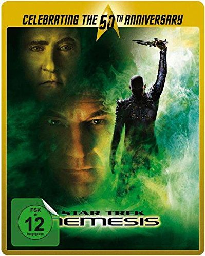 STAR TREK 10: NEMESIS (Blu-ray Disc, Steelbook) Limited Edition