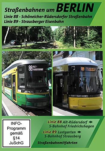 Schöneicher-Rüdersdorfer Straßenbahn (Linie 88) und Strausberger Eisenbahn (Linie 89) um Berlin