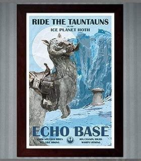 Star Wars - Hoth Travel Poster - Echo Base - 11x17
