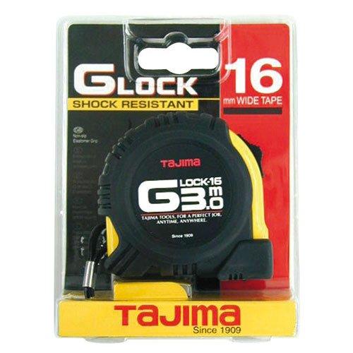 Tajima G6P30MY G6P30MY-Cinta métrica Resistente a Impactos (3 m x 16 mm), Negro