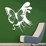 zqyjhkou Cute Angel Vinyl Wall Stickers Modern Fashion Decor Wallstickers for Kids Room Bedroom Decoration Art D57x61cm
