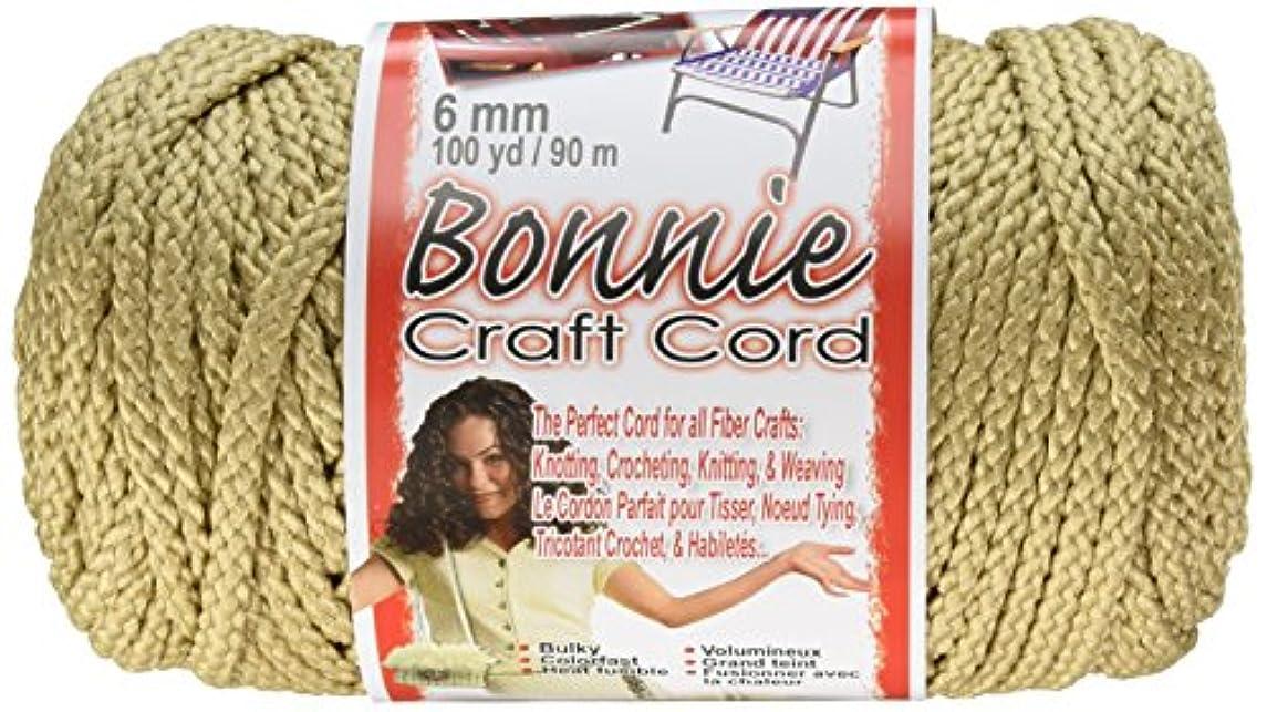 Pepperell 6mm Bonnie Macramé Craft Cord, 100-Yard, Jute