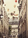 Close Up Flying Over Paris Kunstdruck Irene Suchocki (46cm