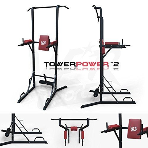 We R Sports Chin Up Pull Up Sit Ups Power Tower...