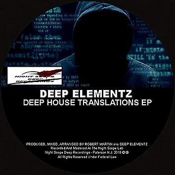 Deep House Translations EP