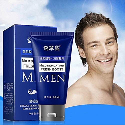 Crema depilatoria permanente Crema depilatoria Barba Crema removedora de bigote