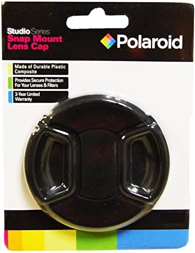 Polaroid Studio Series Snap Mount Lens Cap For The Pentax K-3, K-50, K-500, K-01, K-30, K-X, K-7, K-5, K-5 II, K-R, 645D, K20D, K200D, K2000, K10D, K2000, K1000, K100D Super, K110D,ist D,ist DL,ist DS,ist DS2 Digital SLR Cameras Which Have Any Of These (18-250mm, 28-105mm) Pentax Lenses