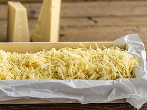 Fonduekäse 'Klassisch' - Mischung frisch gerieben - SIXPACK AKTION 6x 500g Portion für ca. 15 Personen - Naturbelassen / Laktosefrei - Fondue Käse - Käsefondue – Käse Fondue - Fonduemischung