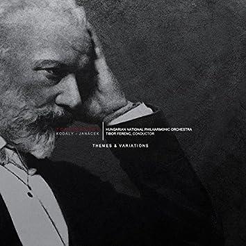 Tchaikovsky/Kodaly/Janacek - Themes & Variations