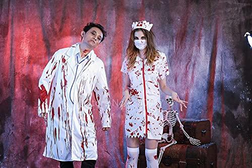 Puzzle 1000 pezzi Halloween medico infermiera costume adulto costume cosplay festa catsuit fantasma zombie costume da vampiro coppia vestiti con cerniera puzzle 1000 pezzi pae50x75cm(20x30inch)