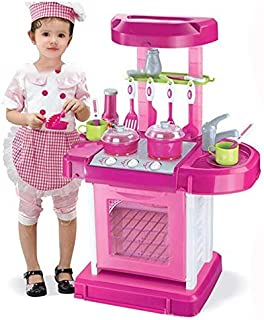 Kitchen Appliance Oven Cooking Playset Custome DIY Toy Child Pretend Kitchen Toys Multifunctional Children Play Toy Large ...